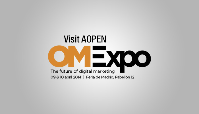 Visit AOPEN at OMExpo 2014, The Future of Digital Marketing