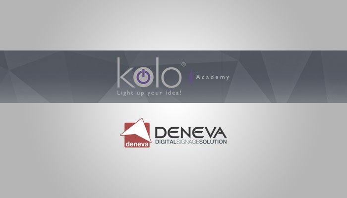 Social Media and Digital Signage Webinar with Deneva in the Kolo Academy